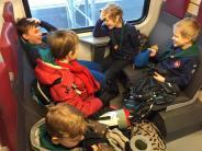 Lähijunalla Nuuksioon